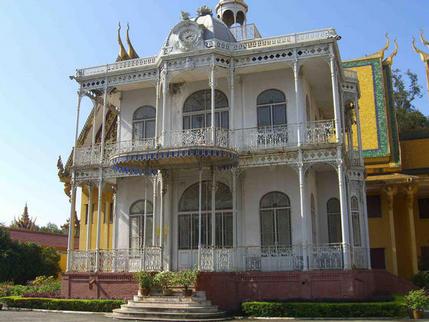 French colonial building, Royal Palace, Phnom Penh