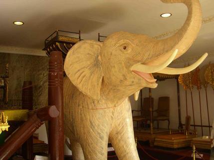White elephant, Royal Palace, Phnom Penh