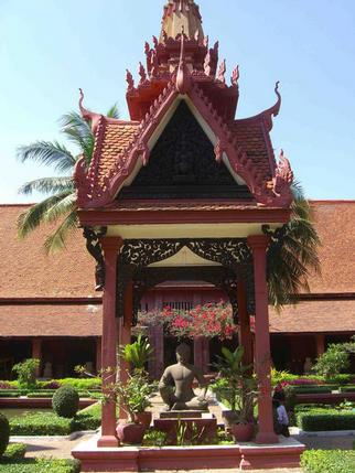 Buddha at the National Museum, Phnom Penh