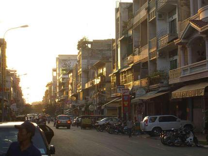 Street scene #1, Phnom Penh