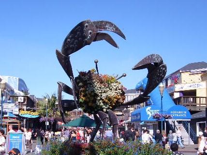 Big Crab, Fisherman's Wharf, San Francisco