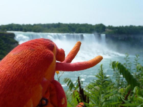 American Falls, viewed from Niagara, Canada