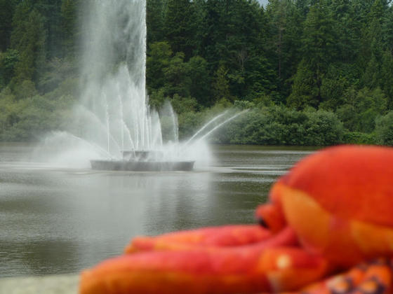 Fountain at the Lost Lagoon, Stanley Park, Vancouver