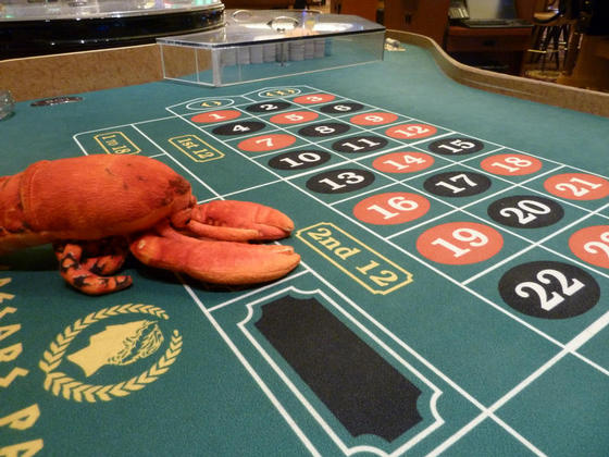 All on red, Caesars Palace, Las Vegas