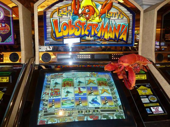 Lucky Larry's Lobstermania, Las Vegas
