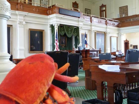 At the Senate, Austin TX