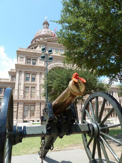 At the Capitol, Congress Avenue, Austin TX
