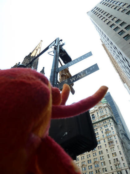 Taking a look at Wall Street, New York