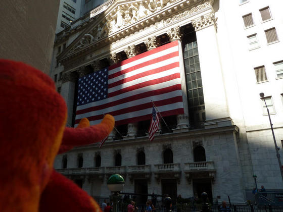 Visiting the New York Stock Exchange