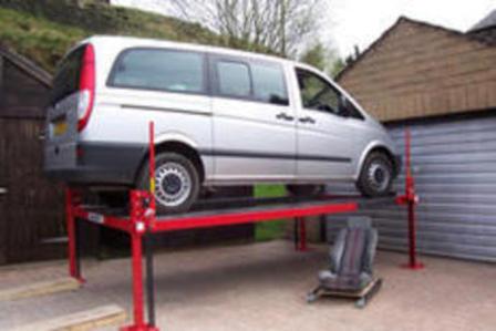 how to build a lifting platform