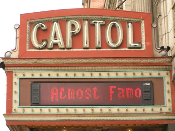 Almost Famous at the Capitol Music Hall