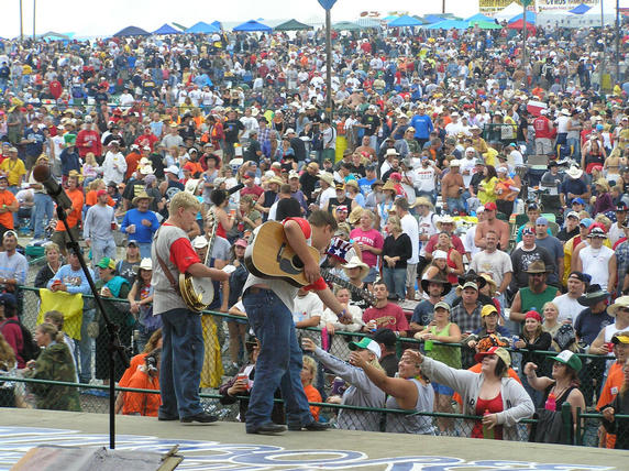 """They were fanastic"" at 2004 Jamboree in the Hills"