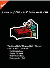 Andrew-Lang-4-books-in-1-Part- Part 2 - Pink, Grey, Violet & Crimson Fairy books, Fairy Tales, Mythological stories, Fairy stories