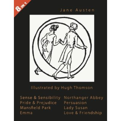 Illustrated Jane Austen (book cover)