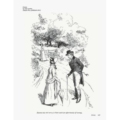 Illustrated Jane Austen - book illustration by Hugh Thomson