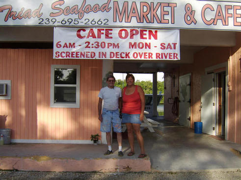 Triad Seafood owners Orlo & Pam Hilton