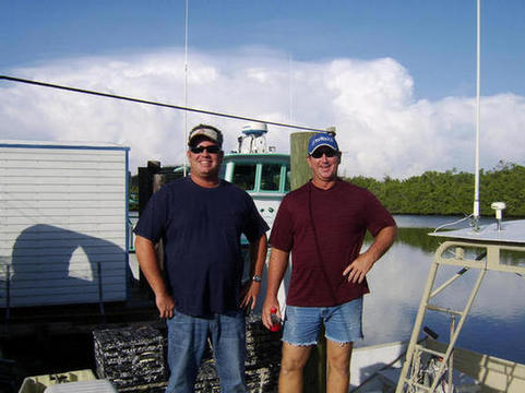 Robert Robinson Jr & Macky Collins, Everglades City