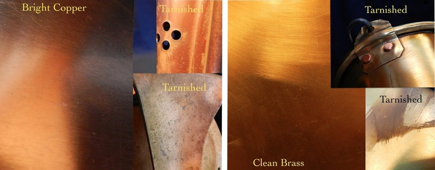Clean and Tarnished Metals