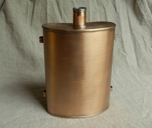 Copper Tin Lined Canteen