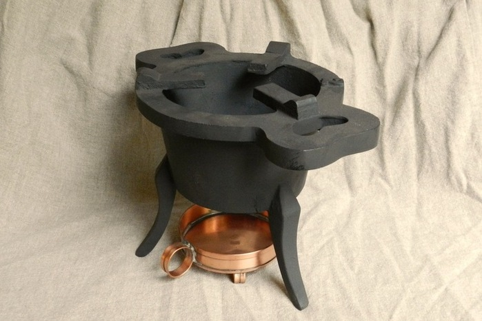 Cast Iron Brazier