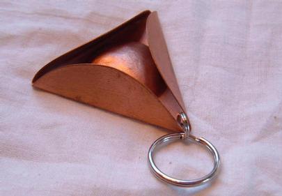 Tricorn Keychain