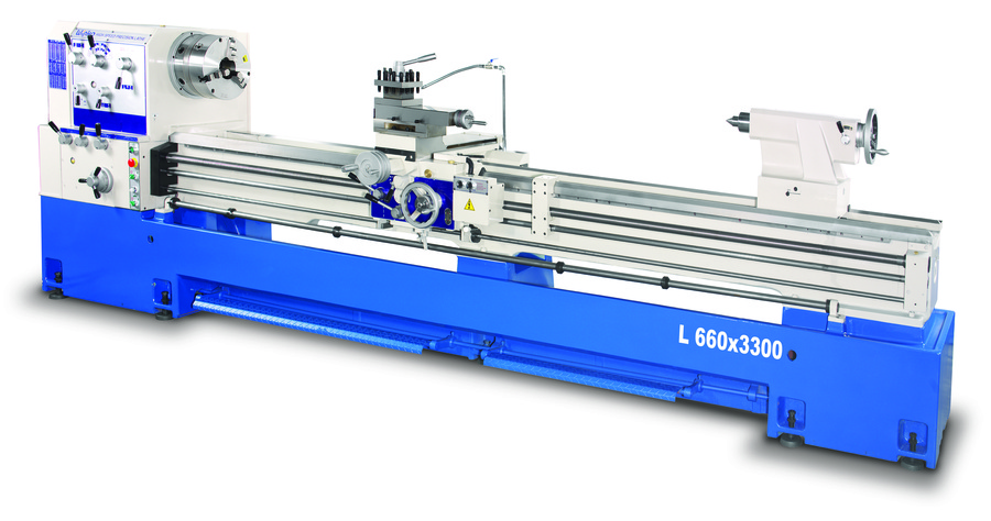 Linear L660 x 3300 Long Bed Centre Lathe