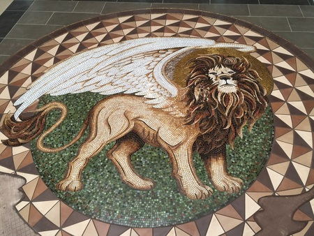 Lion Of St. Mark Mosaic
