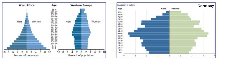 Age-sex graphs