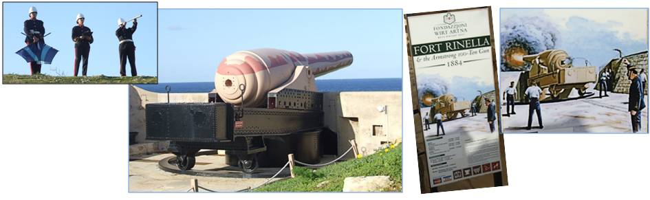 Armstrong Gun at Fort Rinella - Malta