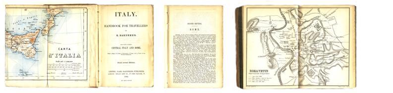 Baedeker's Rome - 1886