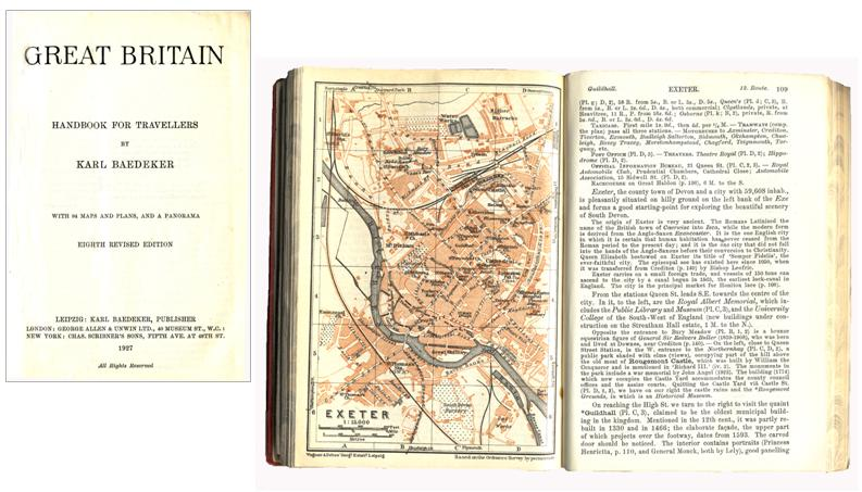 Baedeker's Great Britain Guide of 1927