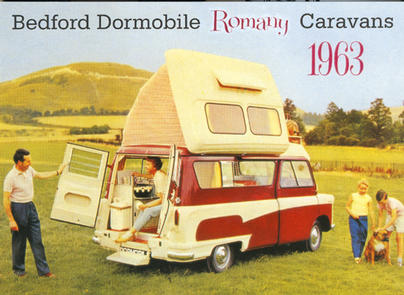 Bedford Dormobile 1963 advert