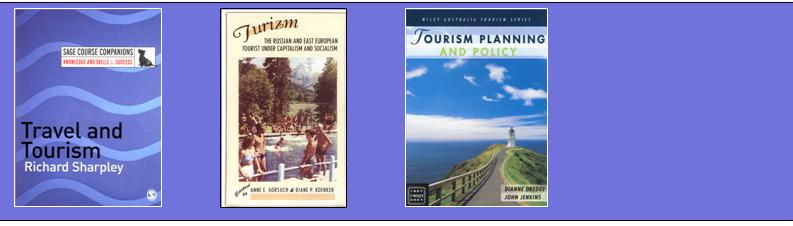 New tourism books