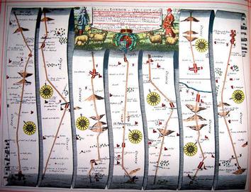 John Ogilby road map