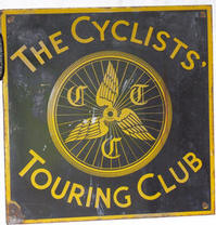Cycle Touring Club sign