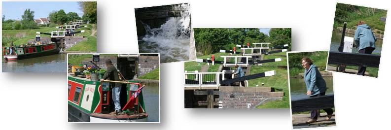 Canal locks flight composite