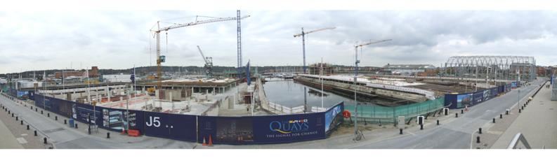 Chatham Maritime - docks area