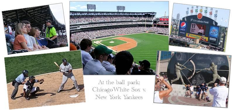 Chicago White Sox v NY Yankees composite