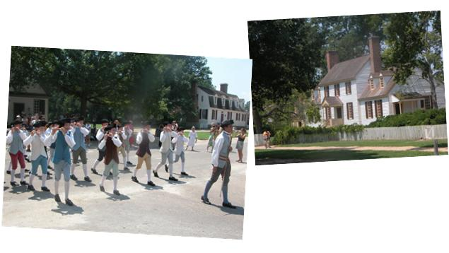 Colonial Williamsburg composite