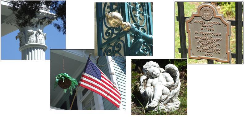 Charleston - architectural details