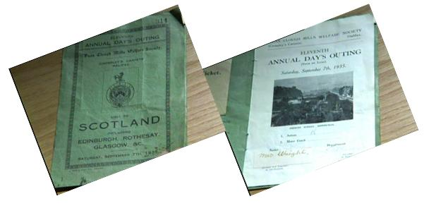 Crossley outing to Scotland brochure - 7 Sept 35