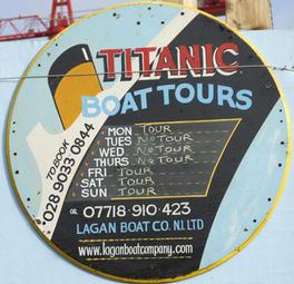 Titanic tours