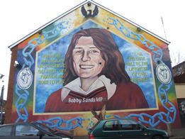 Bobby Sands - political mural