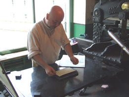 Ulster Folk and Transport Museum - print shop