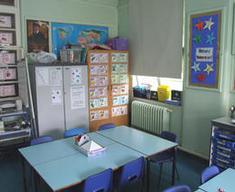 Westwood Primary School room