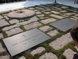 J F Kennedy grave