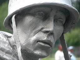 Korean Memorial figure- Washington DC
