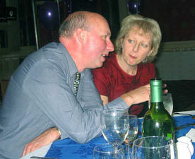 David Hind and his wife