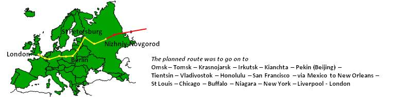 Dr Lehwesser's itinerary