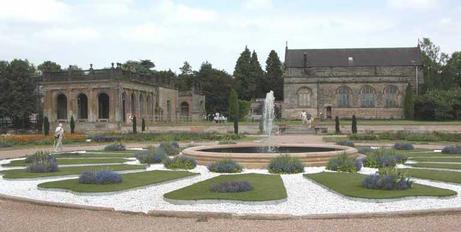 Trentham Gardens fountain area